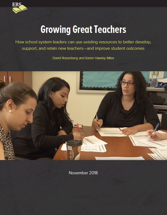 Growing Great Teachers - New Strategies to Support New Teachers