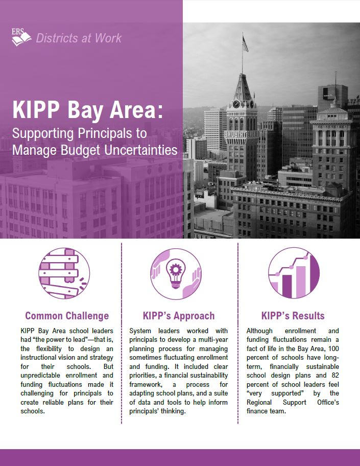 KIPP Bay Area: Supporting Principals to Manage Budget Uncertainties